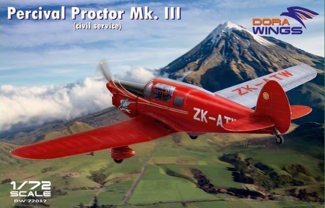 Dora Wings 1/72 Percival Proctor Mk.III (Civil Service) # 72017