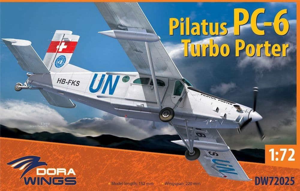 Dora Wings 1/72 Pilatus PC-6 Turbo Porter # 72025