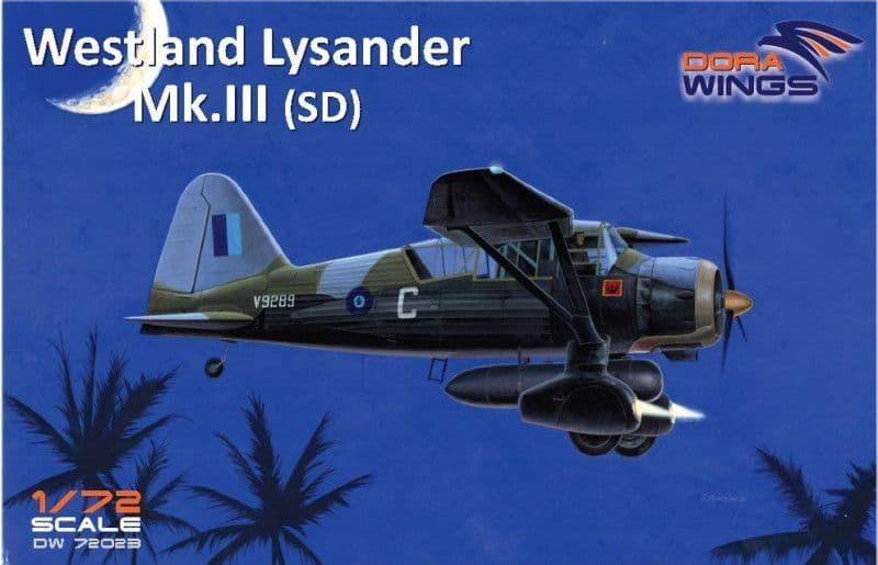 Dora Wings 1/72 Westland Lysander Mk.III (SD) # 72023