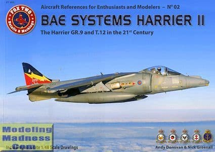 """Double Ugly - The BAE Systems Harrier II """"The GR.9 and T.12 in the 21st Century"""""""