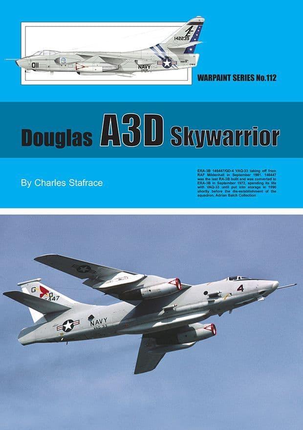 Douglas A3D Skywarrior - By Charles Stafrace