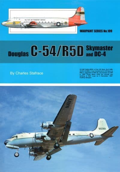 Douglas C-54/R5D Skymaster and DC-4 - by Charles Stafrace