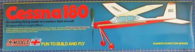 DPR Models - Cessna 180 Rubber Powered Flying Model