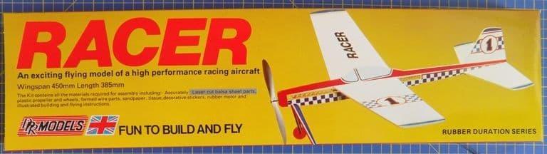 DPR Models - Racer Rubber Powered Flying Model