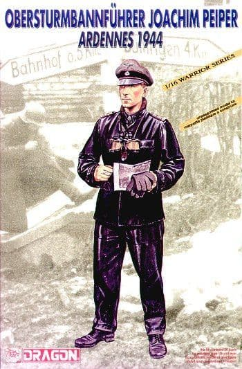 Dragon 1/16 Obersturmbannfuhrer Joachim Peiper Ardennes 1944 # 1620