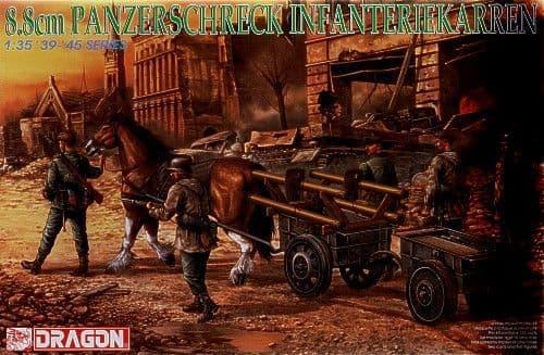 Dragon 1/35 8.8cm Panzerschreck Infantry # 6104