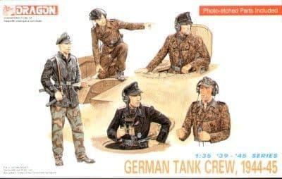 Dragon 1/35 German (WWII) Tank Crew # 6014