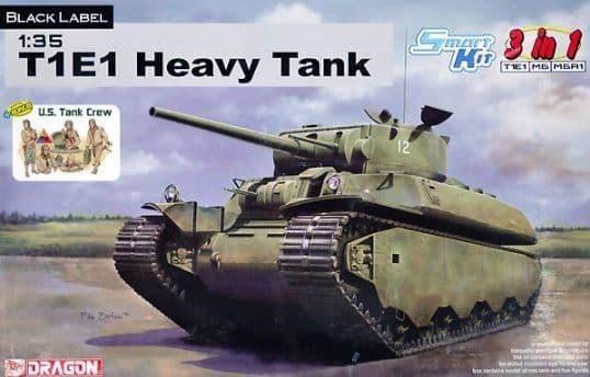 Dragon 1/35 Heavy Tank T1E1 / M6 / M6A1 3 in 1 # 6936
