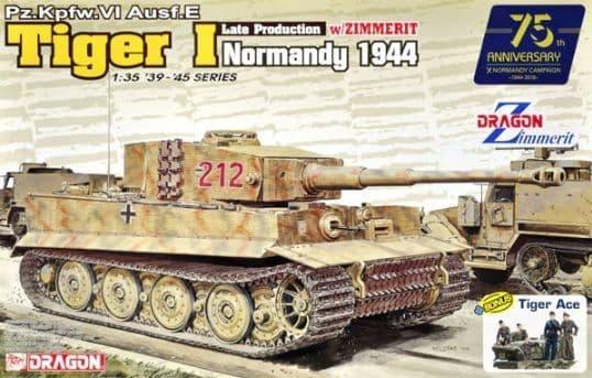 Dragon 1/35 Pz.Kpfw.VI Ausf.E Tiger I Late Production # 6947