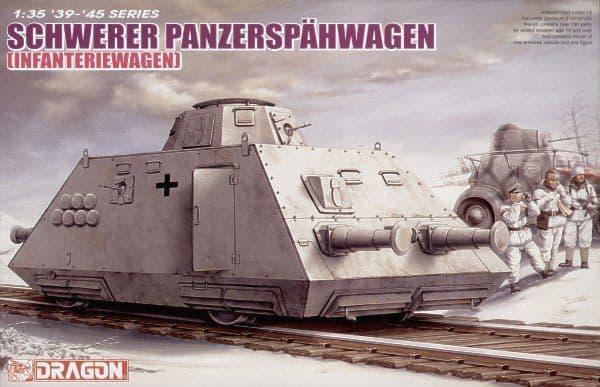 Dragon 1/35 Schwerer Panzerspahwagen (Infanteriewagen) # 6072