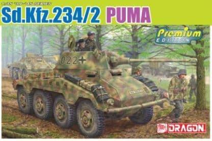 Dragon 1/35 Sd.Kfz.234/2 Puma Premium Edition # 6943