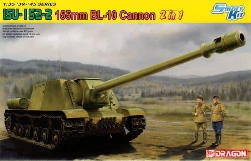 Dragon 1/35 Soviet ISU-152-2 155mm BL-10 Cannon (2 in 1) # 6796