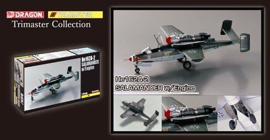 Dragon 1/48 Heinkel He-162A-2 Salamander w/Engine Trimaster Collection # 5576