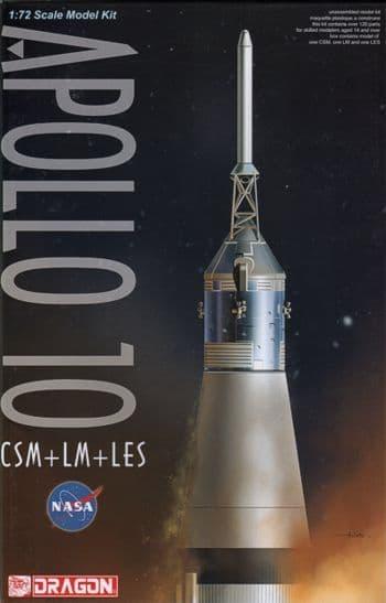Dragon 1/72 Apollo 10 CSM+LM+LES # 11003