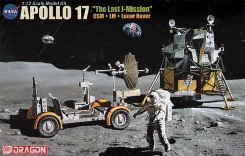 Dragon 1/72 Apollo 17 'The Last Mission' # 11015