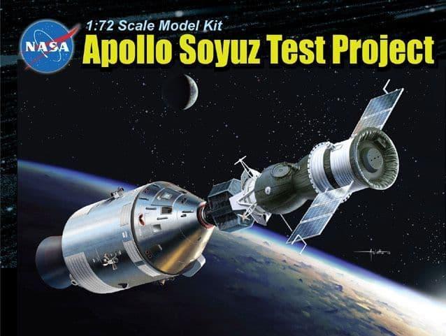 Dragon 1/72 Apollo Soyuz Test Project # 11012