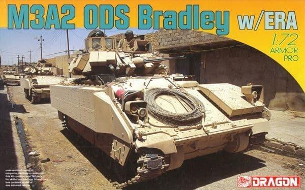 Dragon 1/72 M3A2 ODS Bradley with ERA # 7416