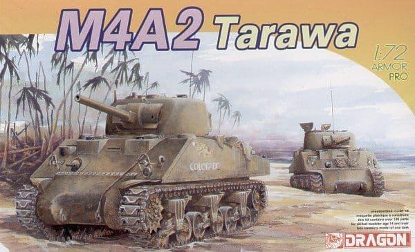 Dragon 1/72 M4A2 75mm PTO # 7305