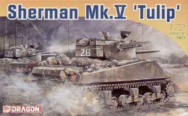 Dragon 1/72 Sherman Mk.V 'Tulip' # 7312