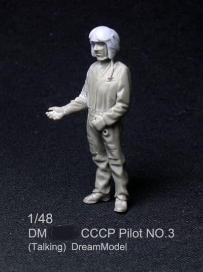 Dream Model 1/48 CCCP Pilot No. 3 (Talking) # 0407