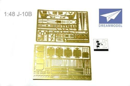 Dream Model 1/48 Chengdu J-10B detail set # 2010