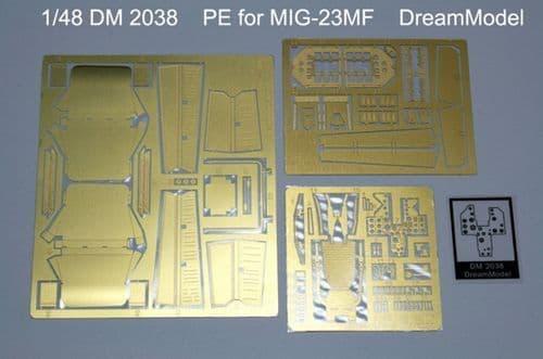 Dream Model 1/48 PE for Mikoyan MiG-23MF # 2038