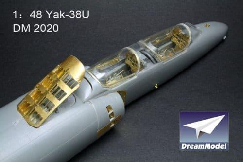 Dream Model 1/48 Yakovlev Yak-38U Forger detail set # 2020