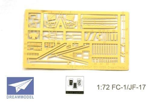 Dream Model 1/72 FC-1/JF-17 detailing set # 0526