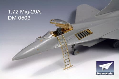 Dream Model 1/72 Mikoyan MiG-29A detail set w/ seat # 0503