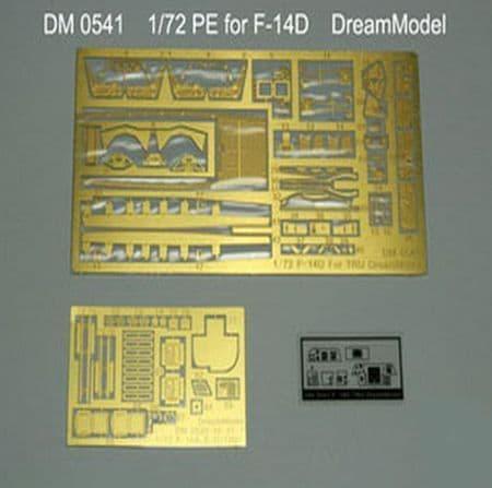 Dream Model 1/72 PE for Grumman F-14D Tomcat # 0541