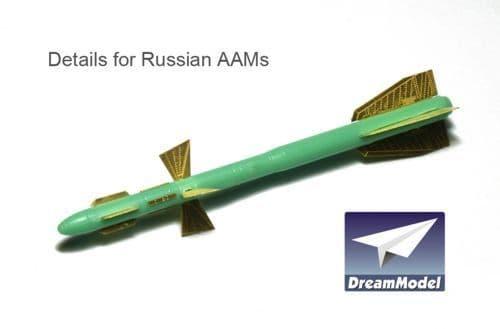 Dream Model 1/72 Russian AAM Detail Set # 0532