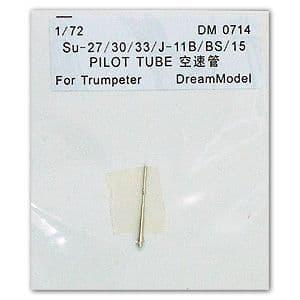 Dream Model 1/72 Su-27/30/33 & J-11B/BS/15 Pitot Tube # 0714