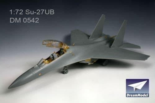 Dream Model 1/72 Sukhoi Su-27UB detail set # 0542