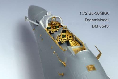 Dream Model 1/72 Sukhoi Su-30MKK # 0543