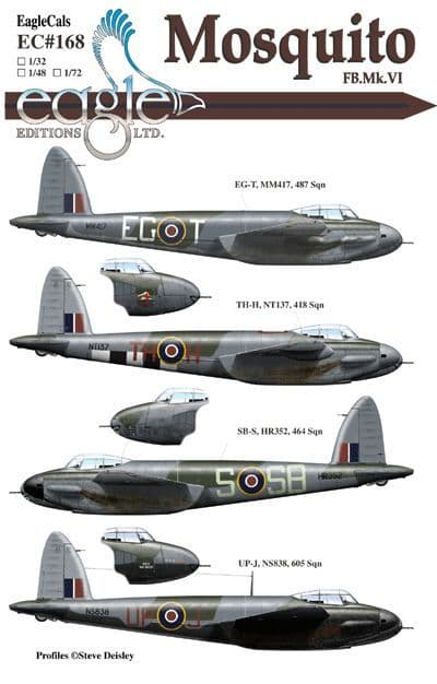 Eagle Cal 1/32 de Havilland Mosquito FB Mk.VI # 32168