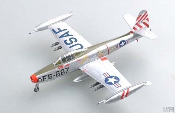 Easy Model 1/72 F-84E Thunderjet 'Sandy' 9th FBS 49th FBW Taegu