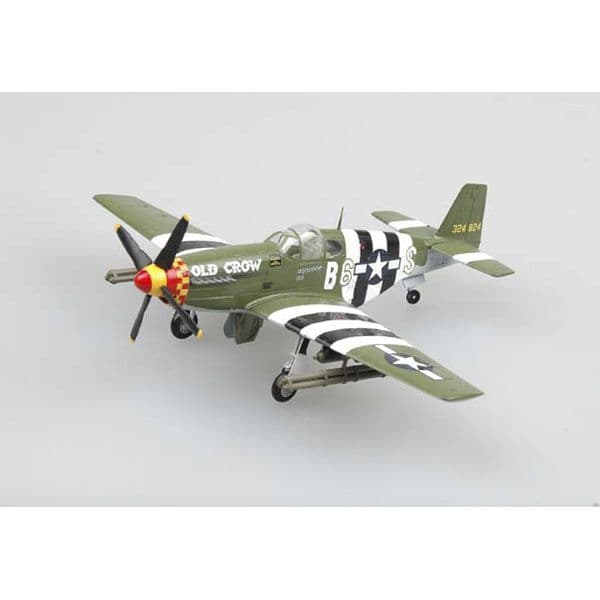 Easy Model 1/72 P-51 B/C Mustang Captain Clarence 'Bud' Anderson