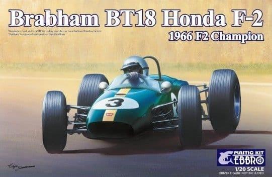 Ebbro 1/20 Brabham BT18 Honda F2 1966 F2 Champion # 016
