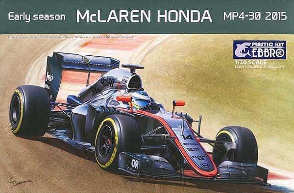 Ebbro 1/20 Early Season McLaren Honda MP4-30 2015 # 013