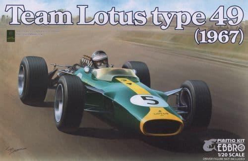 Ebbro 1/20 Team Lotus Type 49 (1967) # 004