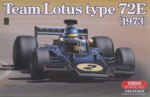 Ebbro 1/20 Team Lotus type 72E (1973) # 003