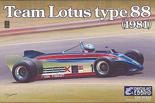 Ebbro 1/20 Team Lotus Type 88 (1981) # 011