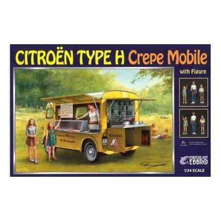 Ebbro 1/24 Citroen Type H Crepe Van  # E25013