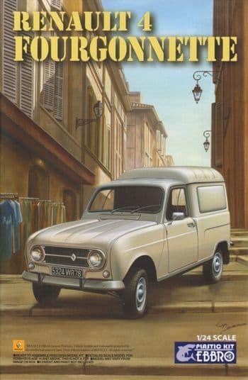 Ebbro 1/24 Renault 4 Fourgonnette # 25003