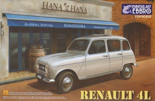 Ebbro 1/24 Renault 4L # 25002