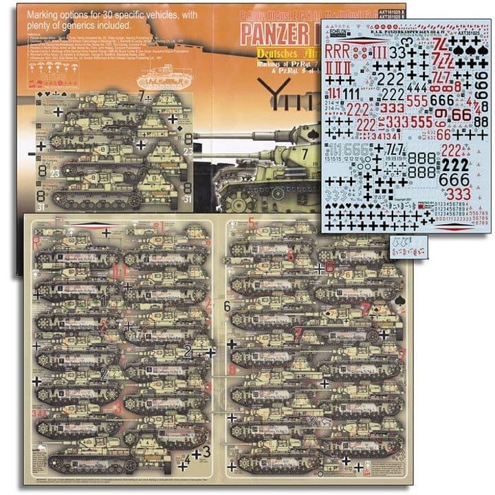 Echelon FD 1/35 DAK Afrika Korps Pz.Kpfw.III & Pz.Kpfw.IV # AXT351025