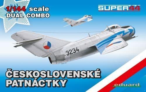 Eduard 1/144 Mikoyan MiG-15 Dual Combo # 4441