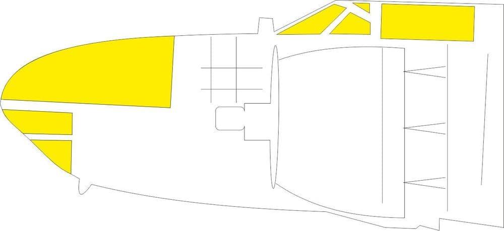 Eduard 1/32 Douglas A-26C Invader TFace Paint Mask # JX272