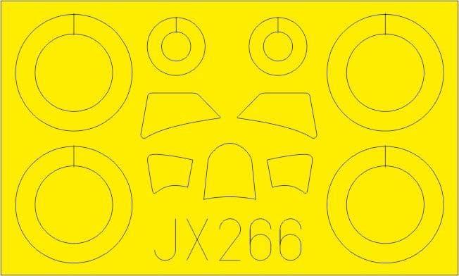Eduard 1/32 Fiat CR.42 Paint Mask # JX266