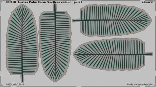 Eduard 1/35 Leaves Palm Cocos Nucifera Colour # 36210